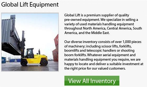 Manitou Propane Forklift